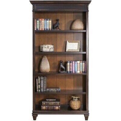 Martin Furniture Hartford Bookcase in Two Tone Distressed -