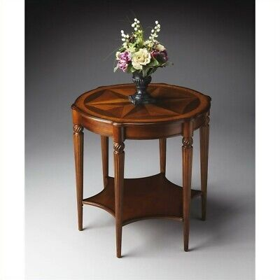 Butler Specialty Masterpiece  Round Accent Table in Olive Ash Burl