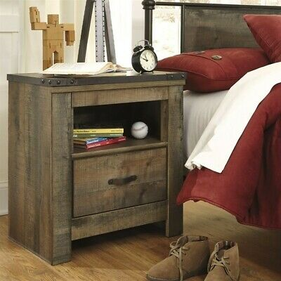 Trinell One Drawer Night Stand Brown Trinell One Drawer Nigh