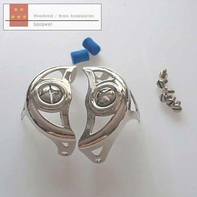 - Alto Eb sax key guard Nickel plating sax parts screw
