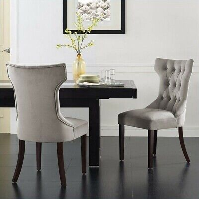 Clairborne Tufted Dining Chair, Set of 2