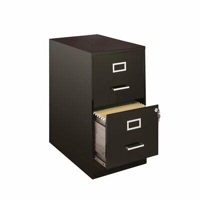 Hirsh Soho 2 Drawer File Cabinet In Black