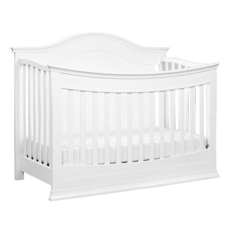 DaVinci Meadow 4-in-1 Convertible Crib with Toddler Bed Kit in White