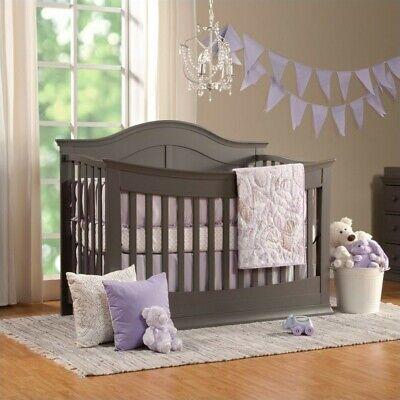 DaVinci Meadow 4-in-1 Convertible Crib with Toddler Rail in (4 In 1 Convertible Crib With Toddler Rail)