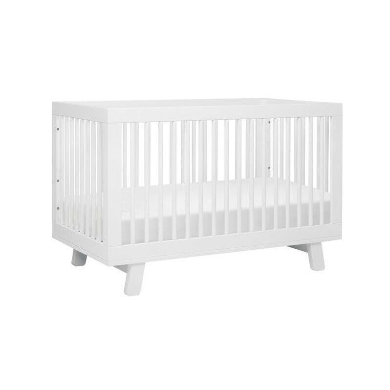 Hudson 3 in 1 Convertible Crib & Toddler Bed Conversion Kit White