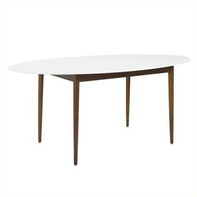Eurostyle Manon Oval Dining Table 63