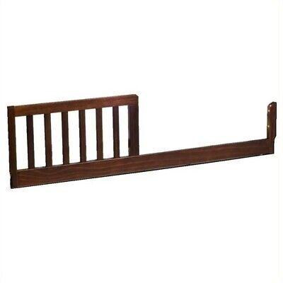 DaVinci Toddler Bed Conversion Rail Kit in Espresso (Da Vinci Bed Rail)