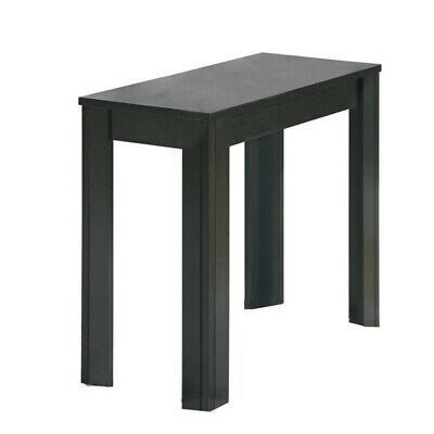 - Monarch Accent End Table in Black Oak