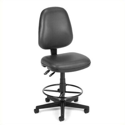 Scranton Co Drafting Office Arm Chair In Charcoal