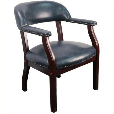 Scranton Co Luxurious Conference Guest Chair In Navy