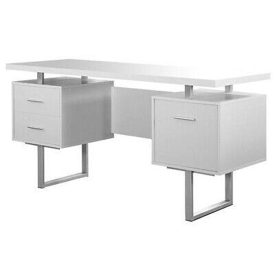 Monarch Hollow-core File Cabinet in White