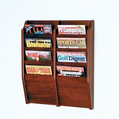 Pemberly Row 8 Pocket Magazine Wall Rack in -