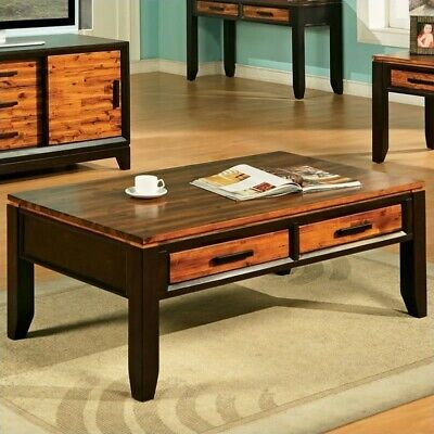 Steve Silver Abaco Storage Coffee Table - Rectangle - 19.0 H