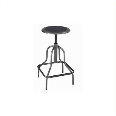 Safco Diesel Backless High Base Industrial Drafting Chair