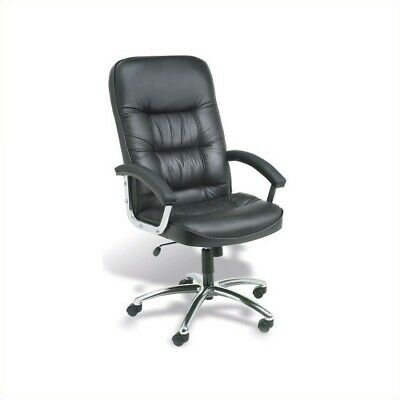 Boss Office Executive Office Chair With Chrome Base In Black