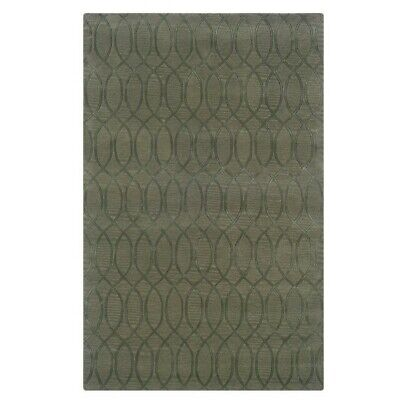 Riverbay Furniture 8' x 11' Hand Tufted Wool Rug in Sea Glass ()