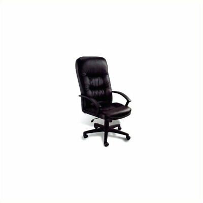 Boss Office Products Ergonomic Leather Office Chair With Knee Tilt