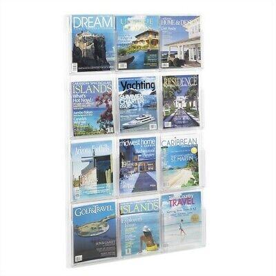 Safco Reveal 12 Magazine Display