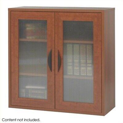 Safco Apres Modular Storage 2 Door Cabinet In Cherry