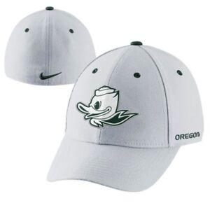 9618fcd689f Nike Oregon Ducks Mascot UO White Dri-FIT Swoosh Flex Hat