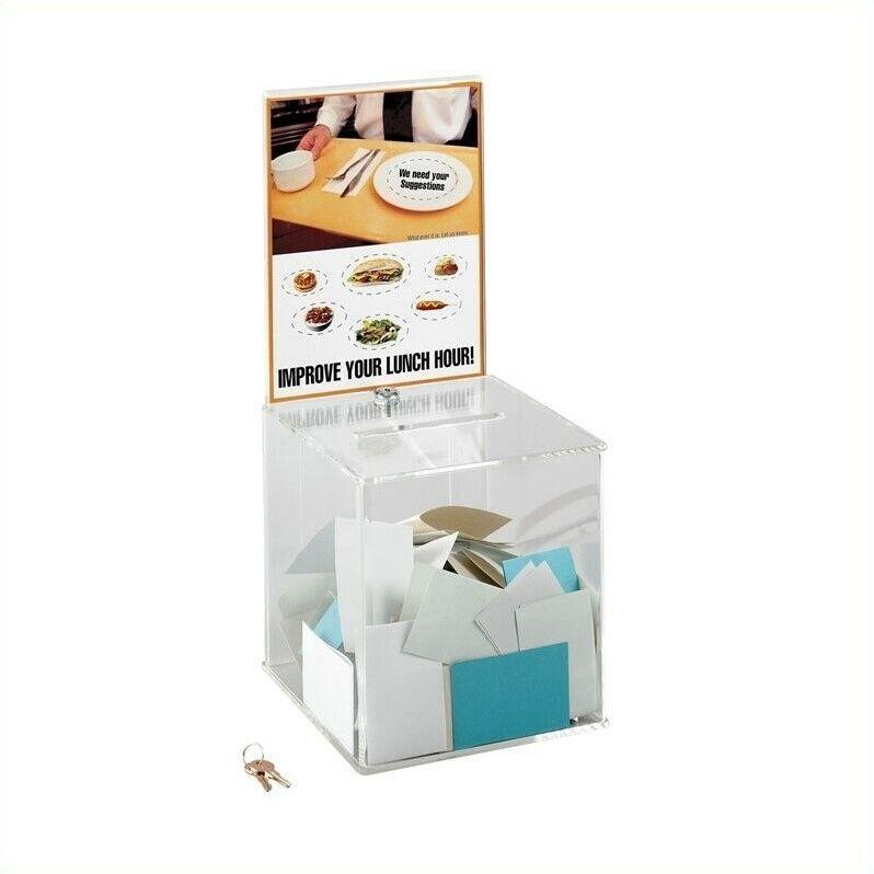 Scranton & Co Large Acrylic Collection Boxes