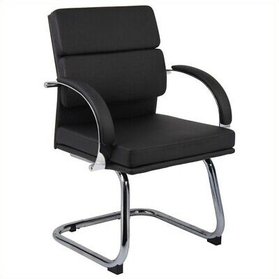 Boss Office Products Caressoftplus Executive Office Chair In Black