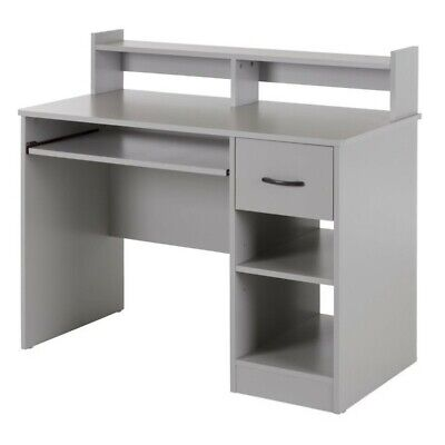 South Shore - Axess Workstation Desk - Soft Gray