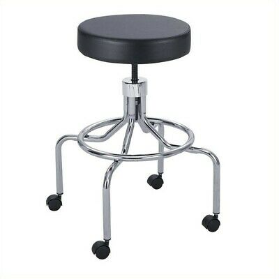 Safco Labdrafting Chair With High Base And Screw Lift In Black