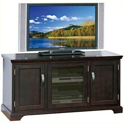 "Leick Furniture 50"" TV Stand with Storage in a Chocolate Cherry Finish"