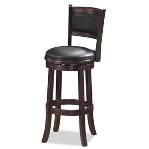 Swivel Bar Stools by Boraam Augusta - 29 inch height