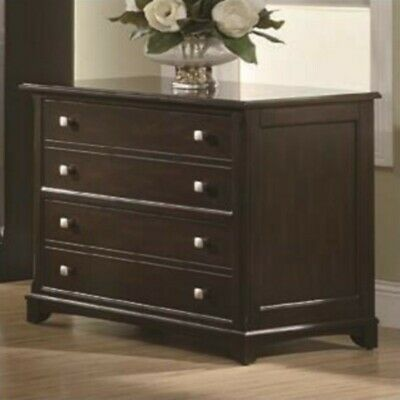 Coaster Garson 2 Drawer Lateral File Cabinet in Cappuccino ()