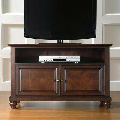 "Crosley Furniture Cambridge 42"" TV Stand in Vintage Mahogany Finish"