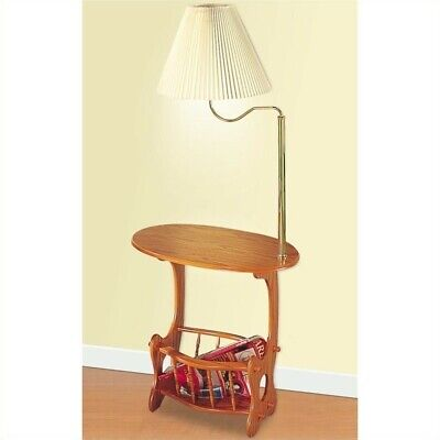 Coaster Magazine Table with Brass Swing Arm Lamp in - Arm Brass Lamp Magazine Table