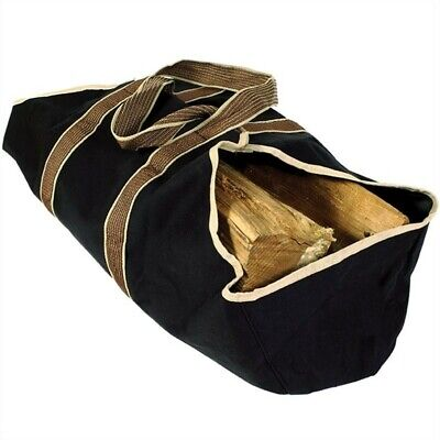 Closed End Log (Uniflame Heavy Weight Canvas Log Tote with Closed Ends )
