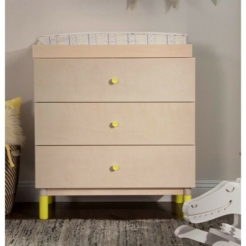 BabyLetto Gelato Dresser Knob Set in Spring Yellow