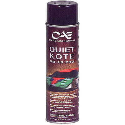 Cascade VB-1S PRO Quiet Kote Damping Spray 18 oz. Net Wt.