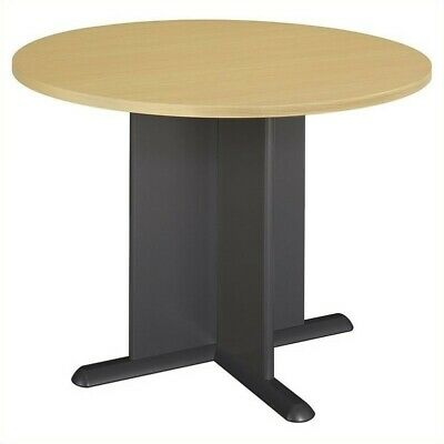 Beech Round Conference Table (Bush Business Series A/C 42 Inch Round Conference Table in)
