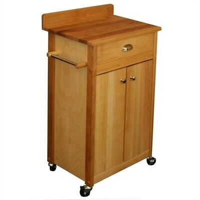 Catskill Craftsmen 24 Inch Butcher Block Kitchen Cart 24 Inch Butcher Block