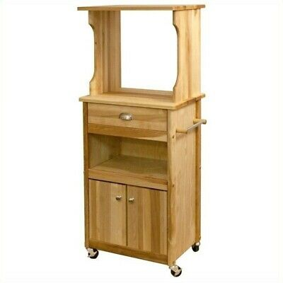 Hutch Top Cart with Open (Catskill Craftsmen Open Storage)
