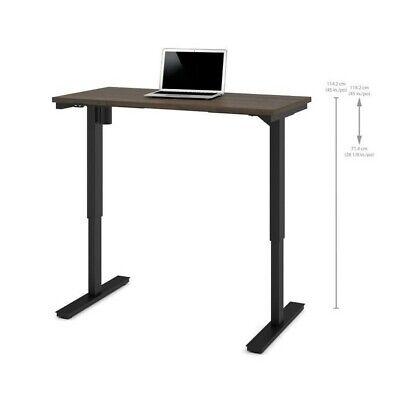 Bestar 24 X 48 Power Adjustable Standing Desk In Antigua