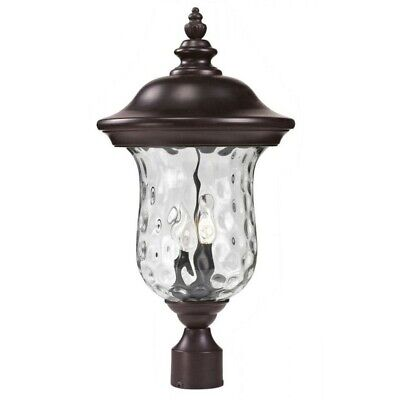 Z-Lite Armstrong Outdoor Post Light in Bronze