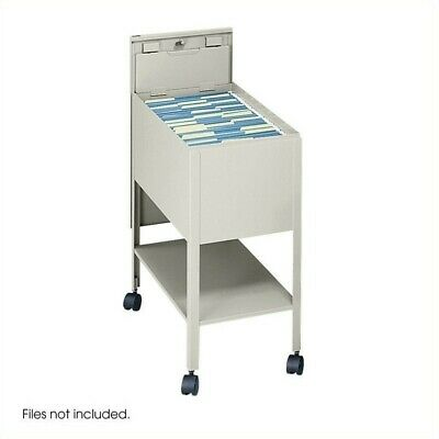 Scranton Co Extra Deep 1 Drawer Mobile Letter Metal Tub File With Lock In P...