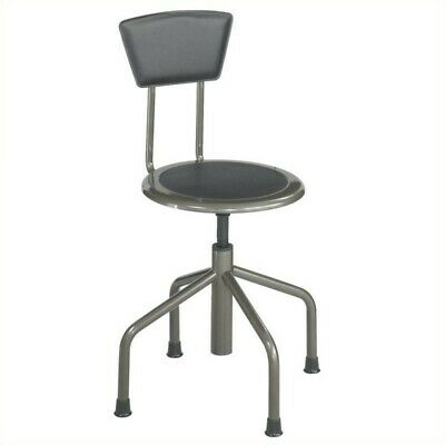Safco Low Base (Safco Diesel Stool Low Base with Back in)