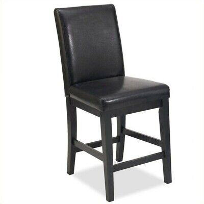 """Home Styles Nantucket 24"""" Counter Stool in Distressed Black"""