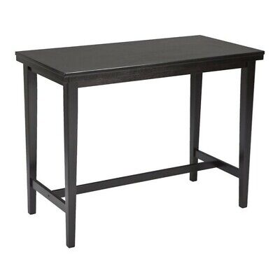 Ashley Kimonte Rectangular Counter Height Dining Table in Dark Brown ()