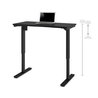 Bestar 24 X 48 Power Adjustable Standing Desk In Black