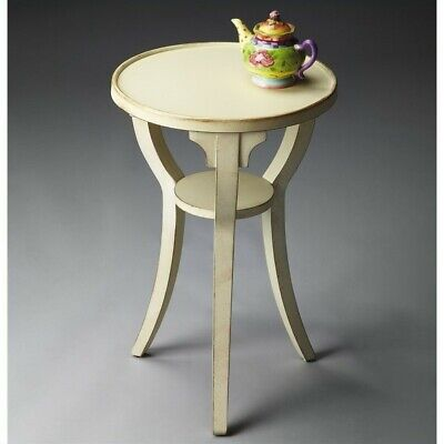 Butler Specialty Masterpiece Round Accent Table in Cottage White