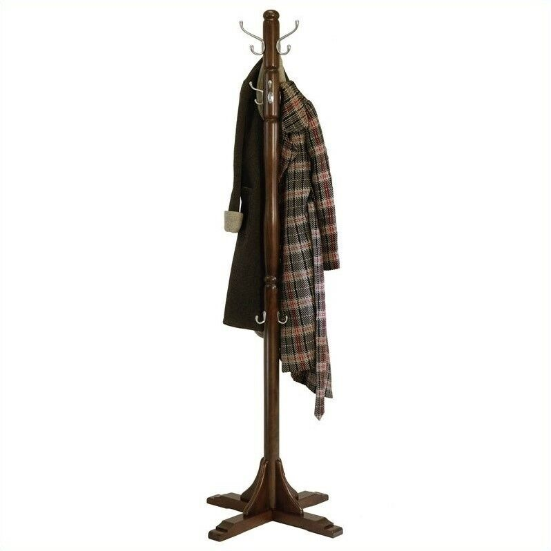 Winsome Jera Coat Rack Tree in Cappuccino Finish