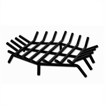 Hex Shape Bar Grate - Uniflame 24 Inch Hex Shape Bar Grate for Outdoor Fireplaces