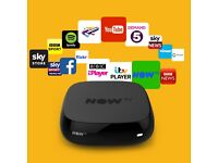 Nowtv box Now tv box with any Pass